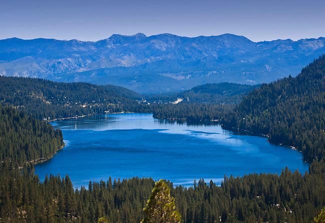 Donner Lake near Lake Tahoe