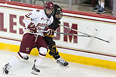 Julius Mattila (BC - 26), Hannu Mattila - The Boston College Eagles defeated the visiting Colorado College Tigers 4-1 on Friday, October 21, 2016, at Kelley Rink in Conte Forum in Chestnut Hill, Massachusetts.The Boston College Eagles defeated the visiting Colorado College Tiger 4-1 on Friday, October 21, 2016, at Kelley Rink in Conte Forum in Chestnut Hill, Massachusett.