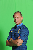 Philippe Mexes .29/5/2012 .Calcio Foto Ufficiali Francia Euro2012.Foto Insidefoto / Anthony Bibard / FEP/ Panoramic ITALY ONLY