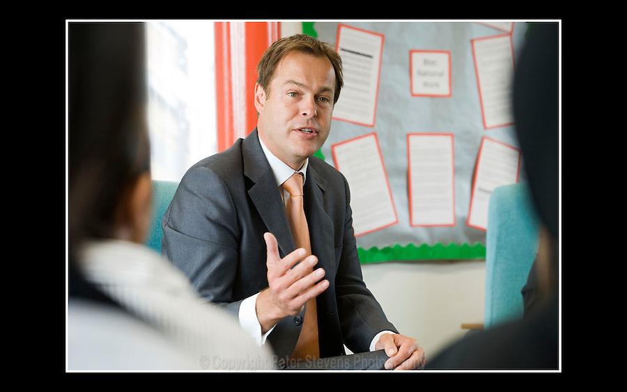 Peter Jones CBE -  South East England Development Agency (SEEDA) - Slough Comprehensive School - 6th June 2008