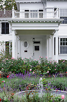Dr. Daniel Fisher House, Edgartown, Martha's Vineyard, Massachusetts, USA.c 1840