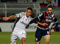 Paulo Dyabala  during the  italian serie a soccer match,between Crotone and Juventus      at  the Scida   stadium in Crotone  Italy , February 08, 2017