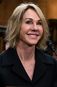 Kelly Craft, United States Ambassador to Canada, smiles during her confirmation hearing to be the United States Ambassador to the United Nations before the Senate Foreign Relations Committee on Capitol Hill in Washington, D.C. on June 19. 2019. Credit: Alex Edelman / CNP