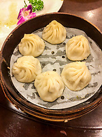 Dumplings for Lunch, Nanxiang Dumpling Restaurant, Yuyuan Garden, Shanghai.