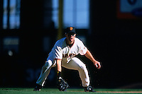 SAN FRANCISCO, CA - J.T. Snow of the San Francisco Giants in action during a game at Pacific Bell Park in San Francisco, California in 2000. Photo by Brad Mangin
