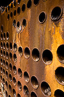 Industrial Abstracts and Textures - Boiler Parts