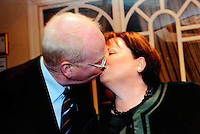 Michael McDowell and Mary harney at the Progressive democrats conference<br /> Picture by Don MacMonagle