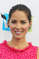 SANTA MONICA, CA - AUGUST 19: Olivia Munn at the 2012 Do Something Awards at Barker Hangar on August 19, 2012 in Santa Monica, California. Credit: mpi21/MediaPunch Inc. /NortePhoto.com<br />
