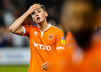 Blackpool's Paudie O'Connor reacts after the final whistle<br /> <br /> Photographer Alex Dodd/CameraSport<br /> <br /> The EFL Sky Bet League One - Blackpool v Sunderland - Tuesday 1st January 2019 - Bloomfield Road - Blackpool<br /> <br /> World Copyright © 2019 CameraSport. All rights reserved. 43 Linden Ave. Countesthorpe. Leicester. England. LE8 5PG - Tel: +44 (0) 116 277 4147 - admin@camerasport.com - www.camerasport.com
