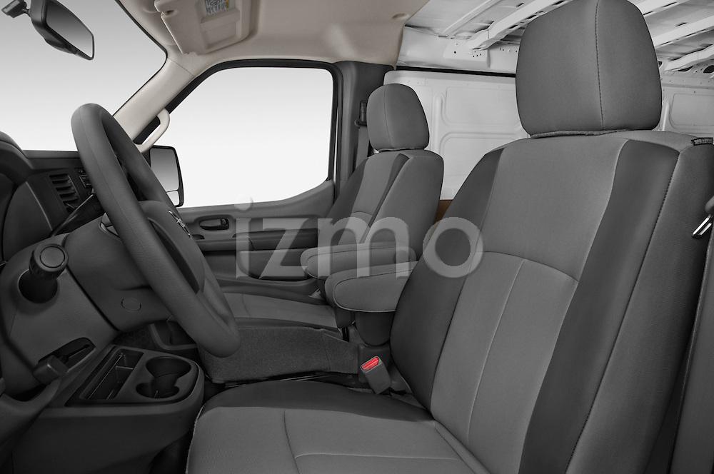 Front seat view of a 2015 Nissan NV Cargo 2500 Standard Roof S V6 Door Cargo Van Front Seat car photos