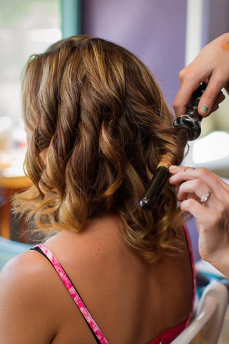 hair and makeup: Christine Watkins