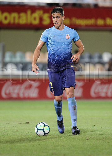 August 12th 2017, Reus, Catalonia, Spain; Pre-season friendly football, Reus Deportiu versus Girona; Bernardo of Girona