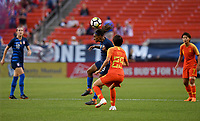 Cleveland, Ohio - Tuesday June 12, 2018: Crystal Dunn during an international friendly match between the women's national teams of the United States (USA) and China PR (CHN) at FirstEnergy Stadium.