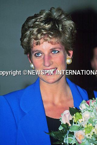 30.11.1994; Paris, France: PRINCESS DIANA <br /> visits a school,Paris, France<br />Mandatory Credit Photo: &copy;Francis Dias/NEWSPIX INTERNATIONAL<br /><br />(Failure to credit will incur a surcharge of 100% of reproduction fees)<br />IMMEDIATE CONFIRMATION OF USAGE REQUIRED:<br />Newspix International, 31 Chinnery Hill, Bishop's Stortford, ENGLAND CM23 3PS<br />Tel:+441279 324672  ; Fax: +441279656877<br />Mobile:  07775681153<br />e-mail: info@newspixinternational.co.uk<br />Please refer to usage terms. All Fees Payable To Newspix International