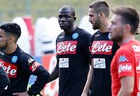 Kalidou Koulibaly  durante il  ritiro precampionato del SSC Napoli a Dimaro<br />  05 Luglio  2017