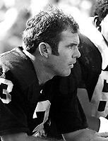 Oakland Raiders QB Daryle Lamonica (1969 photo/Ron  Riesterer)