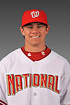 14 March 2008: ..Portrait of Patrick Arnold, Washington Nationals Minor League player at Spring Training Camp 2008..Mandatory Photo Credit: Ed Wolfstein Photo