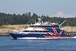 Victoria Clipper, Cattle Pass, San Juan Islands, passenger ferry between Seattle, Friday Harbor, Victoria, British Columbia, Canada