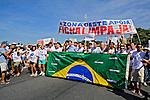 Manifestação a favor do projeto de lei Ficha Limpa. Rio de Janeiro. 2010. Foto de Rogerio Reis.