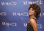 "Ariana DeBose attends the Meet & Greet for ""Summer: The Donna Summer Musical"" on March 8, 2018 at the New 42nd Street Studios,  in New York City."