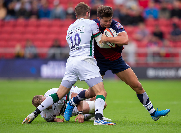 Bristol Bears' Piers O'Conor in action during todays match<br /> <br /> Photographer Bob Bradford/CameraSport<br /> <br /> Premiership Rugby Cup Round Three - Bristol Bears v London Irish - Sunday 6th October 2019 - Ashton Gate - Bristol<br /> <br /> World Copyright © 2018 CameraSport. All rights reserved. 43 Linden Ave. Countesthorpe. Leicester. England. LE8 5PG - Tel: +44 (0) 116 277 4147 - admin@camerasport.com - www.camerasport.com