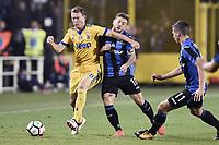 Bergamo 01-10-2017 Stadio Atleti Azzurri d'Italia Football Serie A 2017/2018 Atalanta - Juventus foto Daniele Buffa/Image Sport/Insidefoto <br /> nella foto: Alejandro Gomez-Stephan Lichtsteiner