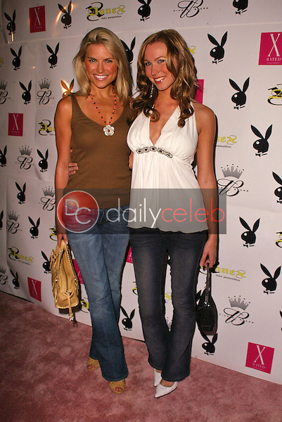 Rachel Reynolds and Sara Sanders<br /> at the Playboy July 2005 Issue Release Party for Cover Model Joanna Krupa, Montmartre Lounge, Hollywood, CA 06-15-05<br /> David Edwards/DailyCeleb.Com 818-249-4998
