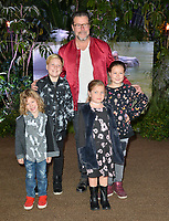 Dean McDermott &amp; Children at the Los Angeles premiere of &quot;Jumanji: Welcome To the Jungle&quot; at the TCL Chinese Theatre, Hollywood, USA 11 Dec. 2017<br /> Picture: Paul Smith/Featureflash/SilverHub 0208 004 5359 sales@silverhubmedia.com