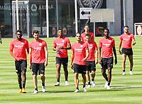 Spieler kommen zum Training - 24.07.2018: Eintracht Frankfurt Training, Commerzbank Arena