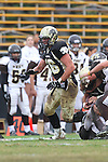 Palos Verdes, CA 11/04/11 - Chris Whitehead (Peninsula #36) in action during the West Torrance vs Peninsula varsity football game.