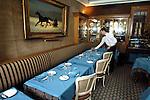 PARIS - FRANCE - 15 APRIL 2004--The Caviar Kaspia house on Place de la Madeleine. The restaurant.-- PHOTO: ERIK LUNTANG / EUP-IMAGES