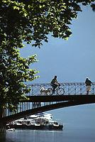 Europe/France/Rhône-Alpes/74/Haute-Savoie/Annecy: Le pont des amours