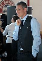 FUSSBALL  1. BUNDESLIGA   SAISON 2012/2013  17.08.2012 S.Oliver Einkleidung beim FC Bayern Muenchen  Bastian Schweinsteiger
