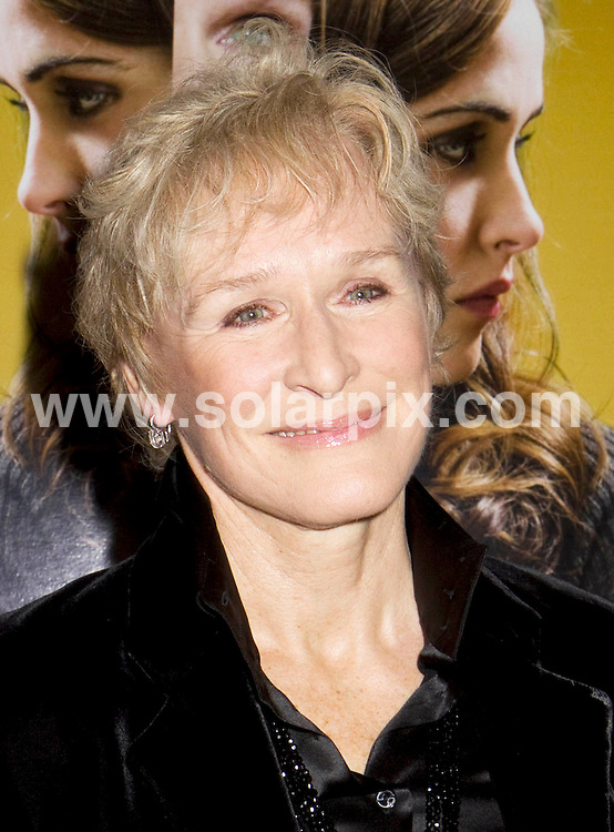 "**ALL ROUND PICTURES FROM SOLARPIX.COM**.**SYNDICATION RIGHTS FOR UK, SPAIN, PORTUGAL, AUSTRALIA, S.AFRICA & DUBAI (U.A.E) ONLY**.The ""Damages"" Season 2 Television Series Premiere the Arrivals at the Directors Guild of America Theatre (DGA) in New York City, New York USA. .This pic:Glenn Close..JOB REF:8152-PHZ/Mayer    DATE:13-12-08 .**MUST CREDIT SOLARPIX.COM OR DOUBLE FEE WILL BE CHARGED* *ONLINE USAGE FEE £50.00 PER PICTURE - NOTIFICATION OF USAGE TO PHOTO@SOLARPIX.COM*"