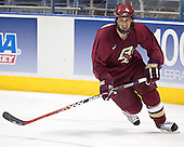 Mike Brennan - The Boston College Eagles practiced on Wednesday, April 5, 2006, at the Bradley Center in Milwaukee, Wisconsin, in preparation for their 2006 Frozen Four Semi-Final game against the University of North Dakota.
