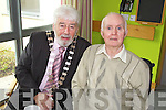 Mayor of Tralee Johnny Wall and Denis Foley at the official opening of the Tralee Community Nursing Unit on Friday.