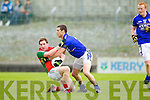 Shane Enright Kerry in action against Michael Conroy Mayo in the National Football League in Austin Stack Park on Sunday..