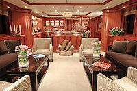 Interiors of Power Yachts