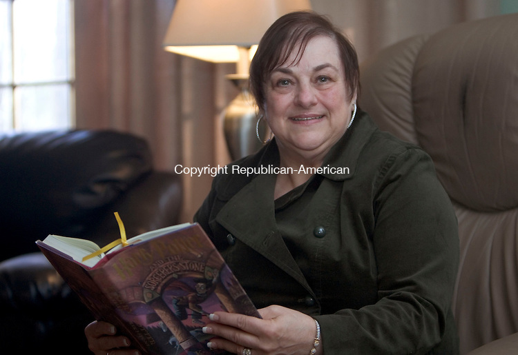 WATERBURY, CT. 03 November 2010-110310SV03--Kathy Johnson, former first selectman sits in her home in Oxford Wednesday. <br /> Steven Valenti Republican-American