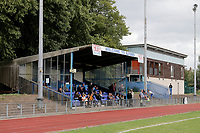 General view of the ground during Ilford vs Harwich & Parkeston, Emirates FA Cup Football at Cricklefields Stadium on 10th August 2019