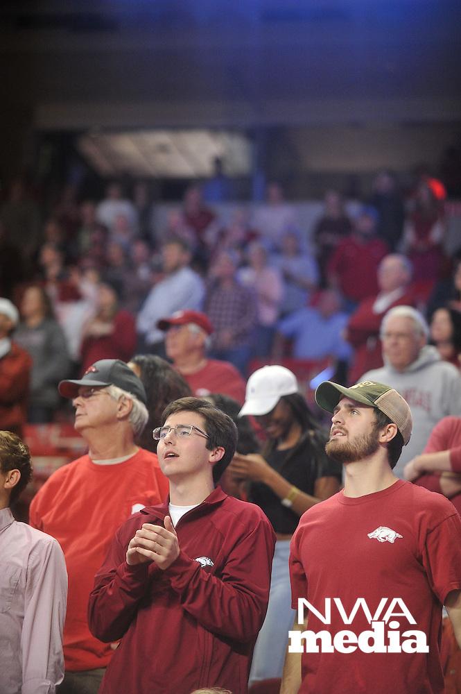NWA Democrat-Gazette/MICHAEL WOODS &bull; @NWAMICHAELW<br /> The University of Arkansas Razorbacks vs the Akron Zips Wednesday November 18, 2015 at Bud Walton Arena in Fayetteville.