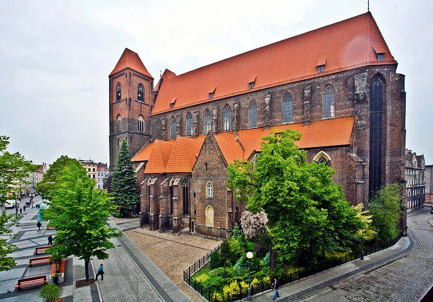 Kościół św. Mikołaja, Brzeg, Polska<br /> Church of St. Nicholas, Brzeg, Poland