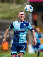 Garry Thompson of Wycombe Wanderers during the Sky Bet League 2 match between Wycombe Wanderers and Mansfield Town at Adams Park, High Wycombe, England on the 14th April 2017. Photo by Liam McAvoy.