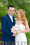 Jackie Fraher, Tralee, daughter of John and Liz Fraher, and St John Hegarty, Tralee, son of John and Betty Hegarty were married at St. Johns Church Tralee by Fr. Padraig Walsh on 6th June 2015 with a reception at Ballygarry House Hotel