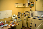 1950s kitchen, Museum of East Anglian Life, Stowmarket, Suffolk