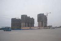 Suburban Building Development in Xianyang, China.  © LAN