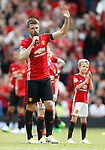 Michael Carrick thanks the crowd during the Michael Carrick Testimonial match at the Old Trafford Stadium, Manchester. Picture date: June 4th 2017. Picture credit should read: Simon Bellis/Sportimage
