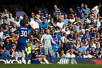Everton's Wayne Rooney reacts after conceding a foul    <br /> <br /> <br /> Photographer Craig Mercer/CameraSport<br /> <br /> The Premier League - Chelsea v Everton - Sunday 27th August 2017 - Stamford Bridge - London<br /> <br /> World Copyright &copy; 2017 CameraSport. All rights reserved. 43 Linden Ave. Countesthorpe. Leicester. England. LE8 5PG - Tel: +44 (0) 116 277 4147 - admin@camerasport.com - www.camerasport.com