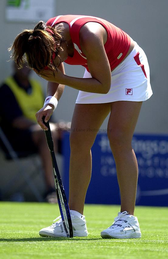 Photo: Richard Lane..Hastings Direct International Championship 2003..16/06/2003..Jennifer Capriati