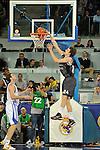 MADRID, Spain (19/01/11). Euroliga de baloncesto. Partido 1 del top 16, grupo G. Euroleague Basketball, Game 1 Top 16, Group G. Real Madrid vs Partizan MT:S..Jan Vesely...©Raul Perez .